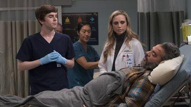 Hubert - Claire tenta ajudar um colega da faculdade, mas é surpreendida com um pedido. Shaun e Morgan negociam os termos de um transplante de órgão entre dois irmãos.