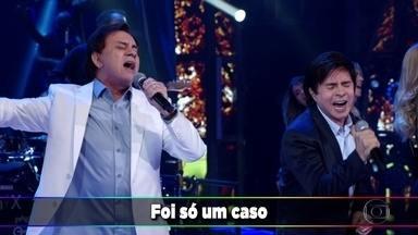 Chitãozinho e Xororó apresentam a canção ´Foi Só Um Caso´ - A música faz parte do último album da dupla e é uma parceria com a cantora Marília Mendonça.