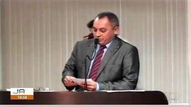Novo presidente da Câmara de Palmas é empossado - Novo presidente da Câmara de Palmas é empossado