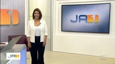Veja os destaques do Jornal Anhanguera 1ª Edição desta terça-feira (1º) - Ronaldo Caiado toma posse como novo governador de Goiás.