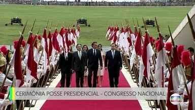 Presidente e vice eleitos se encontram com presidentes da Câmara e do Senado - Presidente e vice eleitos se encontram com presidentes da Câmara e do Senado.