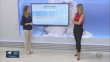 Veja a previsão do tempo para esta quinta-feira (3) na região de Ribeirão Preto - Hoje esquenta bastante. Os termômetros já marcam 32°C.