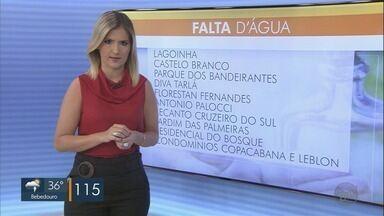 Bairros das regiões Leste e Oeste de Ribeirão podem ficar com torneiras secas até às 18h - Manutenções são feitas em poços artesianos.