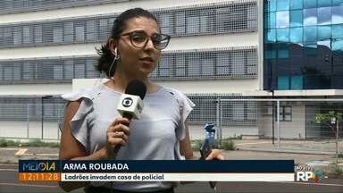 Arma é roubada da casa de uma policial militar em Foz - Ladrões invadiram a casa e levaram também um televisor