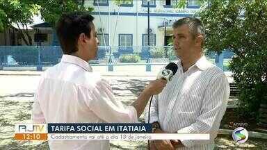 Cadastramento no Tarifa Social vai até domingo (13) em Itatiaia - Com a inscrição, os moradores passam a ter o direito ao financiamento na passagem pago pela prefeitura, conforme lei municipal nº 542/2010.