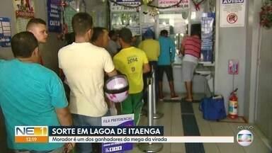 Mega-Sena: ganhador em Pernambuco fez aposta em lotérica de Lagoa de Itaenga - Movimento aumentou depois da notícia do apostador pé-quente.