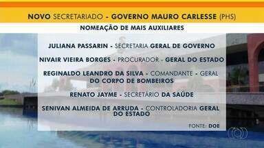 Governo Carlesse anuncia mais cinco nomes para o primeiro escalão - Governo Carlesse anuncia mais cinco nomes para o primeiro escalão