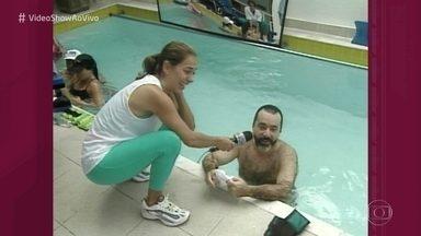 Revirando o baú: Tony Ramos fala sobre o dia a dia com a mulher Lidiane - Relembre o papo do ator com Cissa Guimarães em 2000