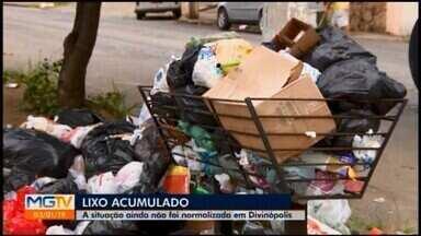 Prefeitura rescinde contrato com empresa responsável pela coleta de lixo em Divinópolis - Decisão unilateral foi publicada nesta quinta-feira (3) no Diário Oficial dos Municípios Mineiros. Serviço está comprometido há vários dias.