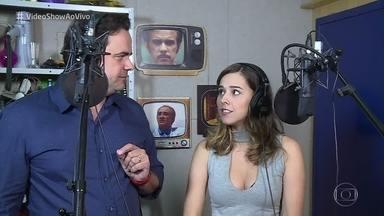 Confira o making of do 'Video Fake' com Thati Lopes - Carioca propõe redublagem de cena da novela 'Belíssima'