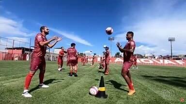 Com meia Danilo e nove reforços, Vila Nova inicia pré-temporada - Tigre volta aos treinos e inicia preparação para o Goianão