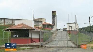 Presídio de Joinville vai ganhar novos pavilhões e melhorias estruturais - Presídio de Joinville vai ganhar novos pavilhões e melhorias estruturais