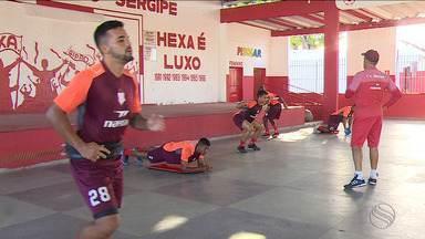 Após folga para festejos de ano novo, Sergipe retoma pré-temporada - Time fez treino físico no João Hora.