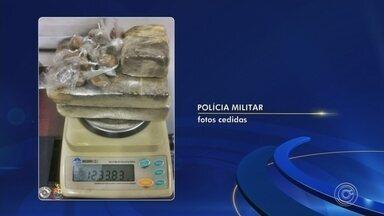 Homem é preso suspeito de tráfico de drogas em Itu - Um homem foi preso suspeito de tráfico de drogas em Itu (SP). Ele foi abordado no bairro Vila da Paz.