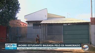 Adolescente baleada após recusar namoro tem morte cerebral confirmada por hospital - Natasha Rodrigues, de 14 anos, foi atingida em Bebedouro (SP) e estava internada na Santa Casa de Barretos.