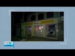 Criminosos explodem agência dos Correios em Nacip Raydan durante tentativa de assalto - Segundo informações da Polícia Militar, autores do crime não conseguiram levar nenhum valor em dinheiro; parte da estrutura da agência ficou comprometida.
