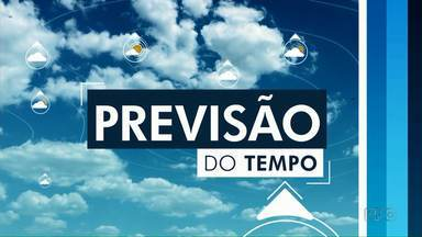 Sexta-feira deve ter chuva na região de Maringá - Temperatura chega aos 29 ºC na cidade.