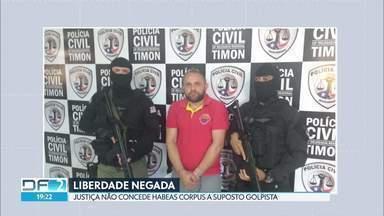 Justiça nega Habeas Corpus a suposto golpista de Sobradinho - Ele e comparsas, entre eles um policial civil, falsificavam documentos para vender imóveis de condomínio.