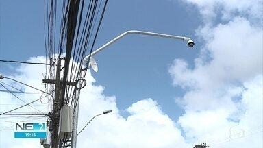 Central de videomonitoramento é inaugurada em Olinda - Dezoito câmeras fazem parte do sistema.