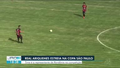 Real Ariquemes estreia na copinha - Time representa Rondônia na competição.