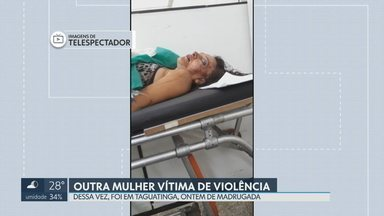 Homem é suspeito de ter agredido a esposa em Taguatinga - Segundo as investigações, Ana Célia de Carvalho, de 42 anos foi agredida pelo marido na madrugada de ontem na QND 8.