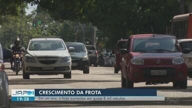 Em um ano, frota de veículos no Amapá aumentou em quase 8 mil - Dados são do Detran. Crescimento vem acompanhado de algumas preocupações.