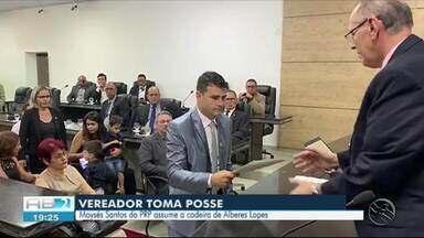 Vereador Moyses Santos toma posse em Caruaru - Vereador ficou no lugar de Alberes Lopes.