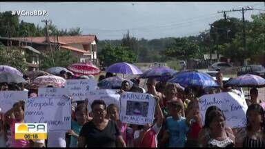 Corpo de criança de 3 anos que foi estuprada e morta em Bragança é sepultado - Corpo de criança de 3 anos que foi estuprada e morta em Bragança é sepultado