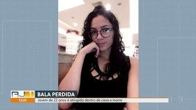Jovem morre atingida por bala perdida dentro de casa em Guadalupe - Uma jovem de 22 anos morreu ao ser atingida por uma bala perdida dentro de casa, na comunidade da Palmeirinha, em Guadalupe. Segundo a Polícia, não havia operação na comunidade da Palmeirinha.