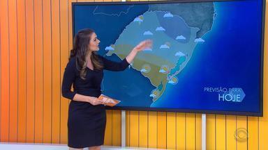 Tempo: RS registra instabilidade e queda de temperaturas - Veja como fica a previsão.