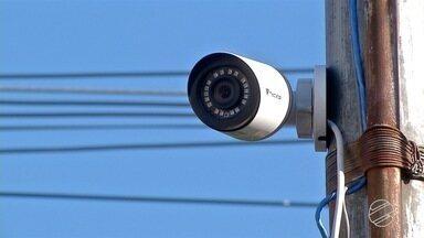 PM está usando câmeras de casas e comércios para monitorar a cidade - Ação é resultado de parceria entre a CDL e a Sejusp.