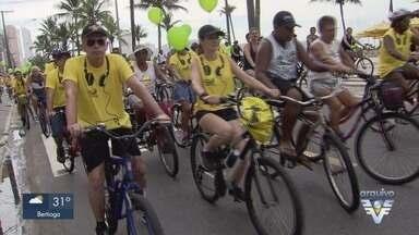 Praia Grande realiza passeio ciclístico em homenagem ao aniversário da cidade - O passeio acontece no dia 20 e contará com diversas atividades de lazer ao longo do dia.