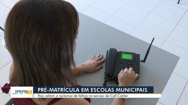 Pais encontram dificuldade para matricular filhos através de call-center em Boa Vista - Serviço é uma das novidades da prefeitura, mas pais afirmam dificuldade.