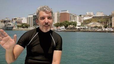 Instrutor de mergulho Genser Freire conta curiosidades do fundo do mar - Instrutor de mergulho Genser Freire conta curiosidades do fundo do mar