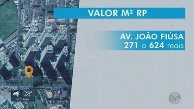 Moradores reclamam de cálculo do IPTU em Ribeirão Preto, SP - Há áreas com metro quadrado 20 vezes maior que o de outros.