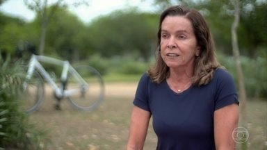 Conheça o perfil de Hedla Lopes - Aos 60 anos, Hedla é triatleta e já participou de 22 provas de Iron Man