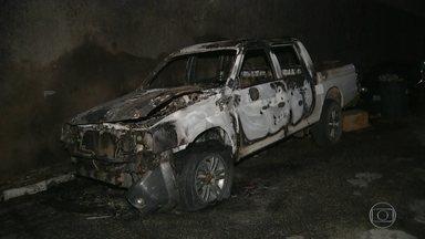 Ceará registra ataques após atuação da Força Nacional - Os ataques no Ceará diminuíram depois da primeira noite de atuação da Força Nacional de Segurança, que chegou no estado na noite de sexta-feira, mas a madruga de sábado foi de medo pelas cidades.