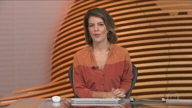 Bom Dia Brasil - Edição de segunda-feira, 07/01/2019 - O telejornal, com apresentação de Chico Pinheiro e Ana Paula Araújo, exibe as primeiras notícias do dia no Brasil e no mundo e repercute os fatos mais relevantes.