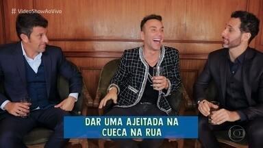 Milhem Cortaz e Mouhamed Harfouch brincam de 'Eu Nunca' - Confira o papo dos atores com Matheus Mazzafera