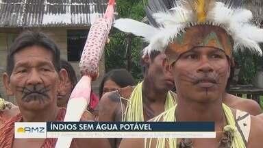 213 Aldeias do Alto Rio Solimões sofrem com a falta de abastecimento - Apenas 20 aldeias da região possuem sistema de abastecimento de água potável.