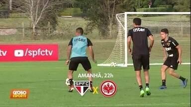 São Paulo se prepara para estreia na Florida Cup - São Paulo se prepara para estreia na Florida Cup