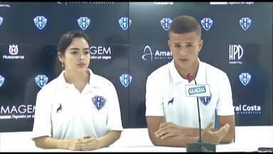 Diego e Victor Diniz pedem passagem no Paysandu em 2019 - Jogadores da base buscam uma oportunidade no Papão do técnico João Brigatti