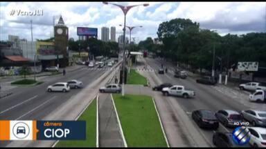 Quadro 'Radar' mostra os pontos de congestionamento na Grande Belém - Veja as notícias do trânsito desta quarta-feira (9).