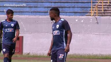 Londrina faz jogo-treino na reta final da preparação - Tubarão aguarda regularização de reforços para terminar montagem de time
