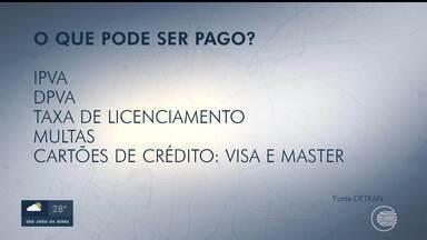 Piauienses já podem pagar multas de trânsito e tributos com cartões de crédito ou débito - Piauienses já podem pagar multas de trânsito e tributos com cartões de crédito ou débito