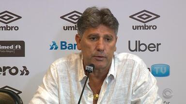 Em coletiva, Renato agradece após cirurgia e comenta novidades do Grêmio para 2019 - Assista ao vídeo.