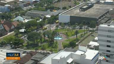 Meio Dia Paraná mostra a situação de praças de Londrina - Algumas bem conservadas, mas outras precisando de revitalizações.