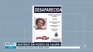 Polícia investiga sumiço de italiana que mora há oito anos em Porto de Sauípe - A polícia está a procura da vítima. Até agora não foi encontrado nenhuma pista.