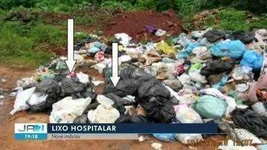 Polícia indicia nove pessoas por descarte irregular de lixo hospitalar em Dianópolis - Polícia indicia nove pessoas por descarte irregular de lixo hospitalar em Dianópolis