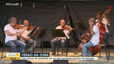Osba apresenta concertos gratuitos no Forte de São Diogo, em Salvador - O projeto 'Osba de Verão' faz homenagem e celebra a estação mais quente do ano.